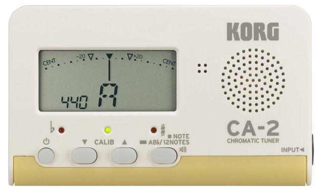 【送料無料メール便】コルグ クロマチックチューナー CA-2 吹奏楽 管楽器 カードタイプチューナー