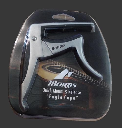 【送料無料・メール便】Morris カポタスト EAGLE CAPOTAST / イーグル・カポタスト カラー:シルバー CA1400