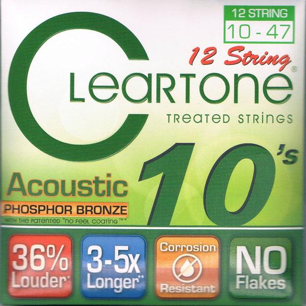 【送料無料メール便】クリアトーン 7410-12 アコースティックギター弦セット