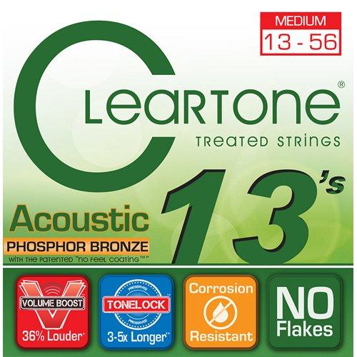【送料無料メール便】クリアトーン 7413 アコースティックギター弦セット
