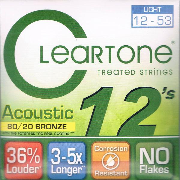 【送料無料メール便】クリアトーン 7612 アコースティックギター弦セット