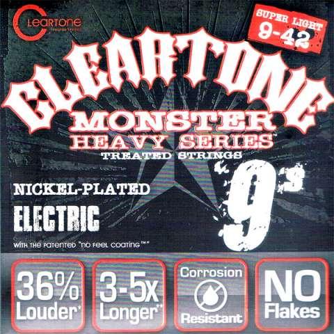 【送料無料メール便】クリアトーン 9509 エレキギター弦セット 9-42