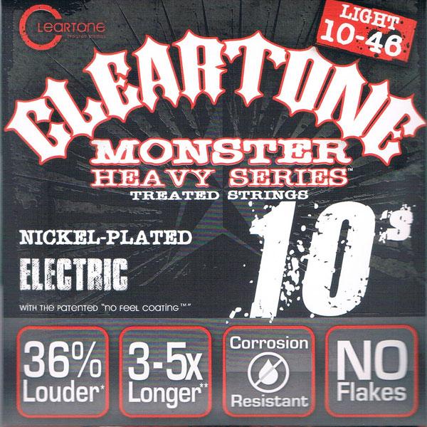 【送料無料メール便】クリアトーン 9510 エレキギター弦セット 10-46