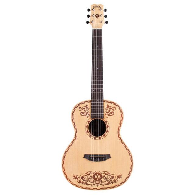 【2018年2月以降発売予約品 】【送料無料】Cordoba COCO GUITER SPRUCE 7/8サイズ ナイロンギター リメンバー・ミーコラボギター