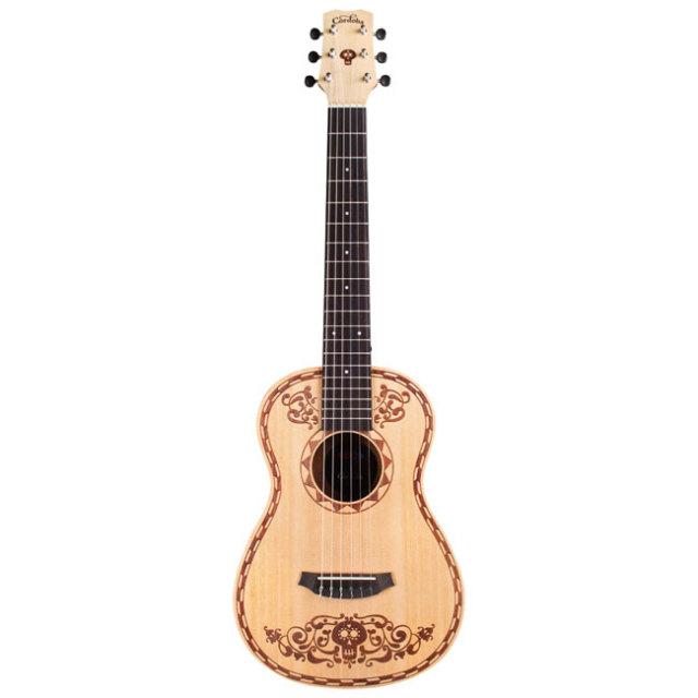 【2018年2月以降発売予約品 】【送料無料】Cordoba COCO MINI XL スプールス1/2サイズ ナイロンギター リメンバー・ミーコラボギター