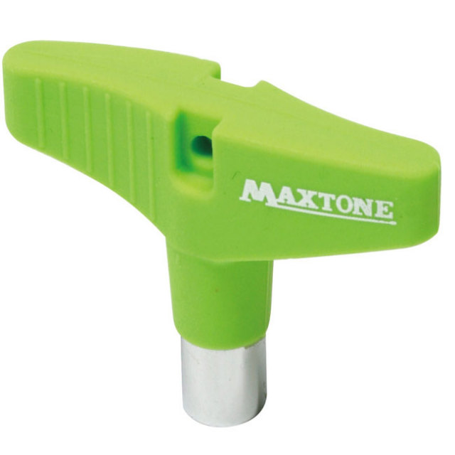 【送料無料メール便】ドラムチューニングキー MAXTONE シリコングリップ グリーン DK-23GN