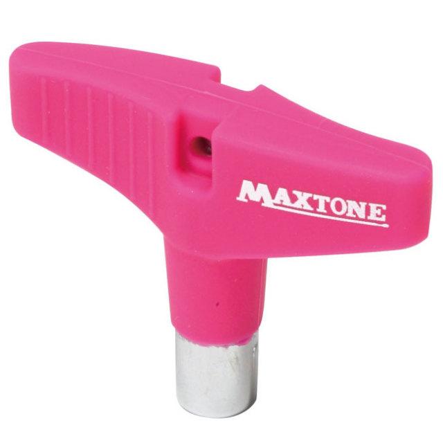 【送料無料メール便】ドラムチューニングキー MAXTONE シリコングリップ ピンク DK-23PK