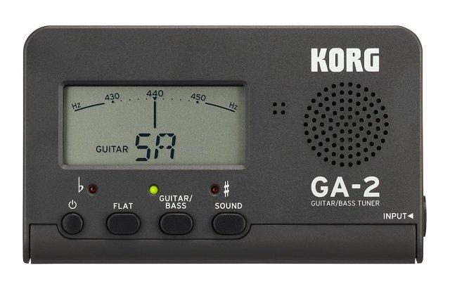 【送料無料メール便】コルグ ギターチューナー GA-2-MG カードタイプチューナー