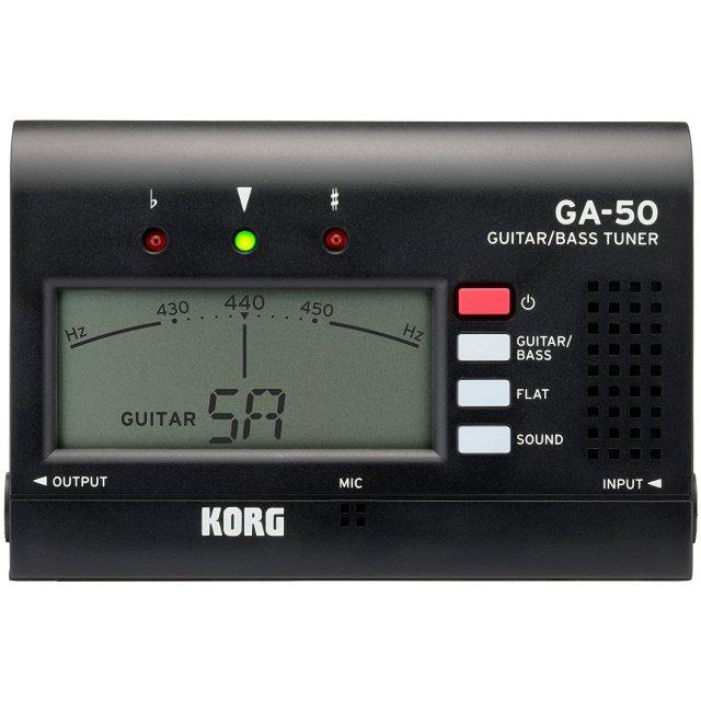 【送料無料メール便】KORG GA-50 ギター・ベースチューナー