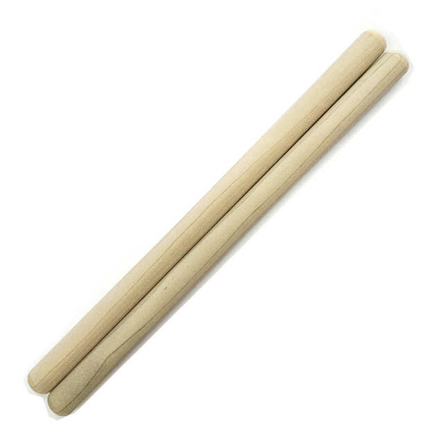 太鼓バチ 材質:ホオ 太さ20mm X 長さ400mm 国産手工バチ 西日本楽器