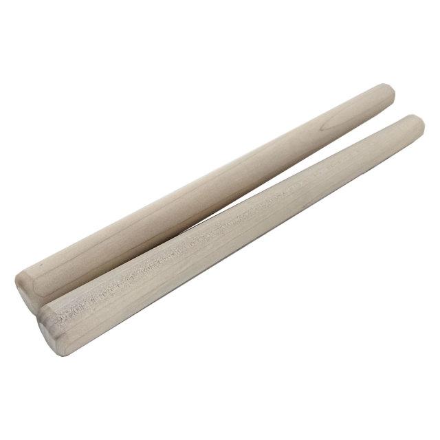 太鼓バチ 材質:ホオ 太さ21mm X 長さ370mm 国産手工バチ 西日本楽器