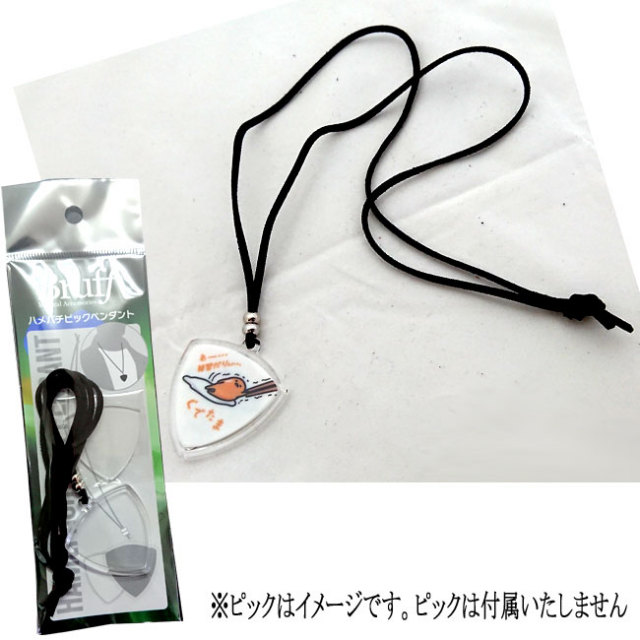 【送料無料メール便】BRUFF ハメパチピックペンダント ピックケース ひとつ HPP-500
