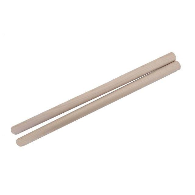 締太鼓用バチ テーパータイプ 材質:カエデ(楓) 先端18mm~持手24mm X 長さ400mm