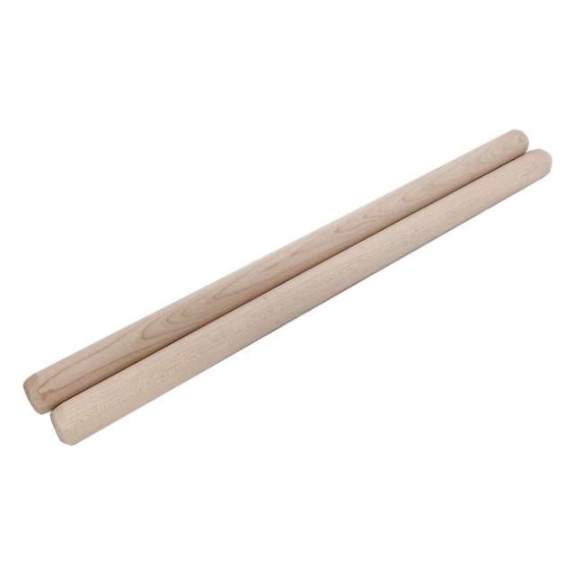 太鼓バチ 材質:カエデ 太さ20mm X 長さ380mm 国産手工バチ 西日本楽器