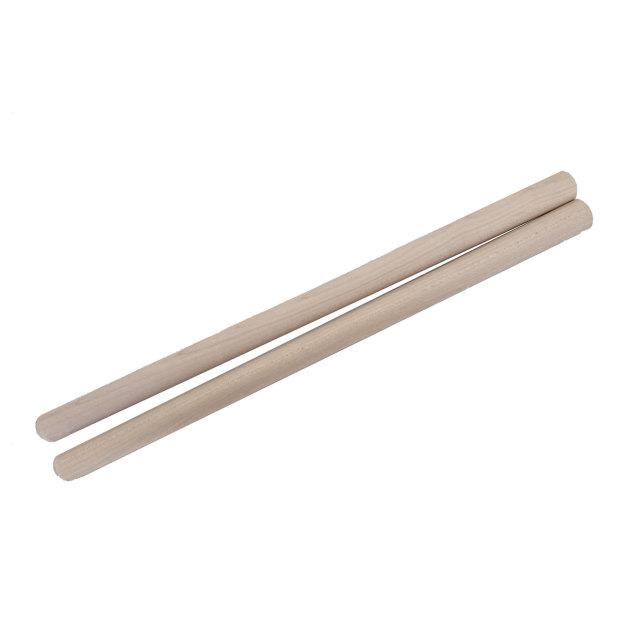 締太鼓用バチ テーパータイプ 材質:カエデ(楓) 先端20mm~持手24mm X 長さ410mm 国産手工バチ 西日本楽器