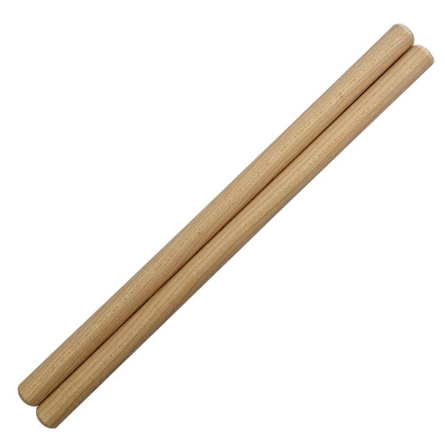 太鼓バチ 材質:カエデ 太さ19mm X 長さ360mm 国産手工バチ 西日本楽器