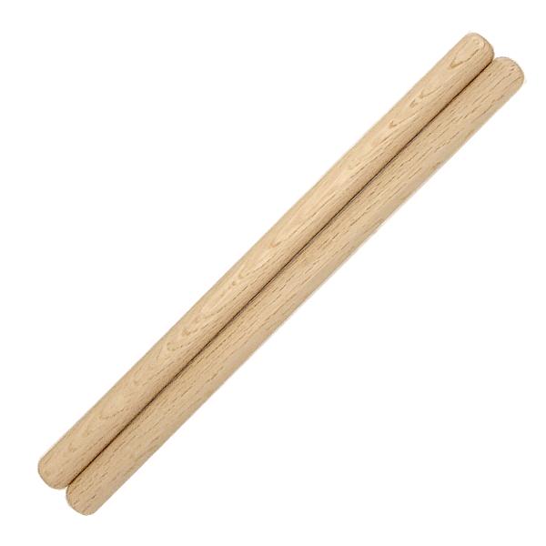 太鼓バチ 材質:カシ 太さ24mm X 長さ420mm 国産手工バチ 西日本楽器