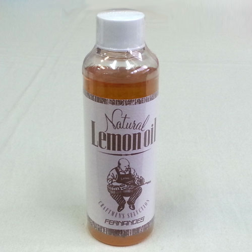 【送料無料郵便】FERNANDES NATURAL LEMON OIL フェルナンデス レモンオイル/ギターボディー&ネックのトリートメントオイル