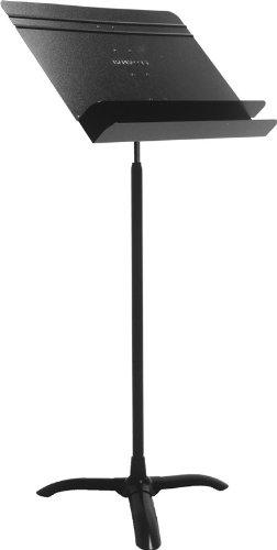 在庫処分アウトレット・保証なし マンハセット 譜面台 M50 オーケストラモデル ブラック