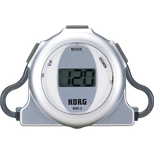【送料無料メール便】KORG 耳に装着する電子メトロノーム MM-2 処分セール品(アウトレット箱潰れ)