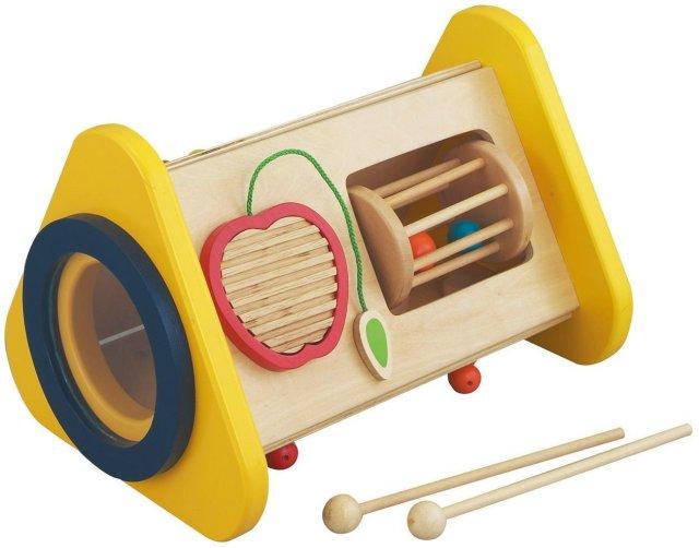 木製おもちゃ 5つのおとあそび 森の音楽会 対象2歳から