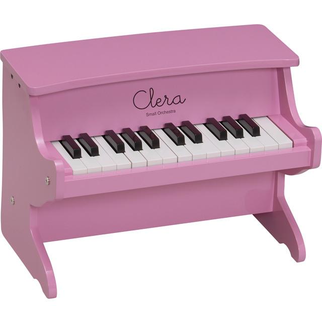 【送料無料】【在庫処分】Clera クレラ ミニピアノ ピンク MP1000-25K-PK トイピアノ