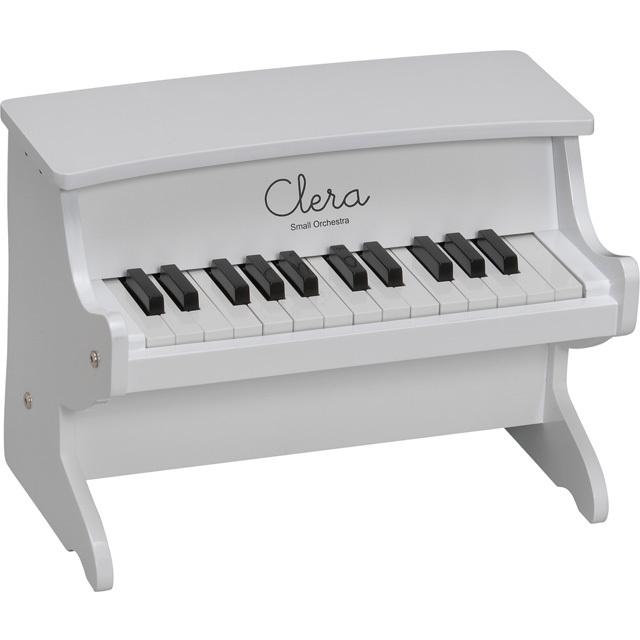 【送料無料】【在庫処分】Clera クレラ ミニピアノ ホワイト MP1000-25K-WH トイピアノ