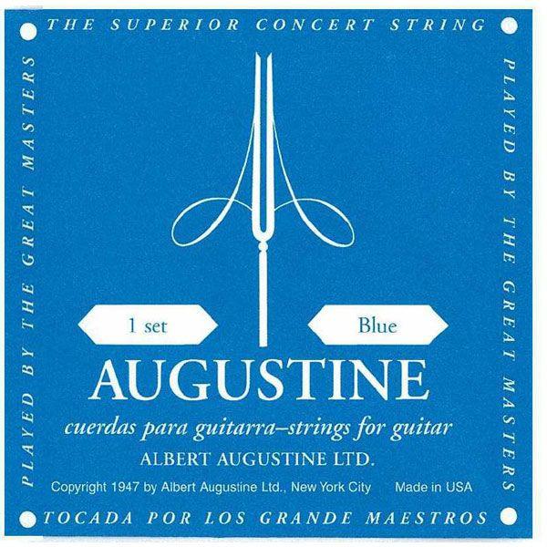 [送料無料] 定番 AUGUSTINE(オーガスチン)Blue(ブルー・青ラベル) セット クラシックギター弦