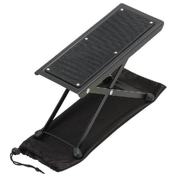 【送料無料】スチールギター足台 クラシックギターで使用します (袋付き)(キョーリツ)