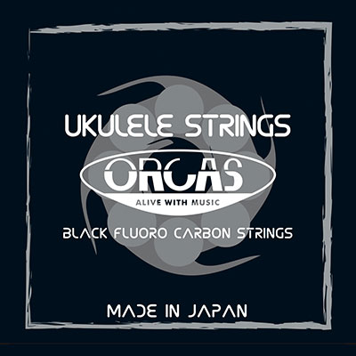 【送料無料メール便】ORCAS フロロカーボン ウクレレ弦セット ソプラノウクレレ用 コンサートサイズ ハードゲージ(022~023) OS-HARD