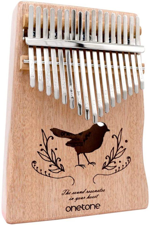 【送料無料】ONETONE カリンバ OTKL-01/OK アフリカの楽器 オクメ材採用 17キー 指で弾く楽器です
