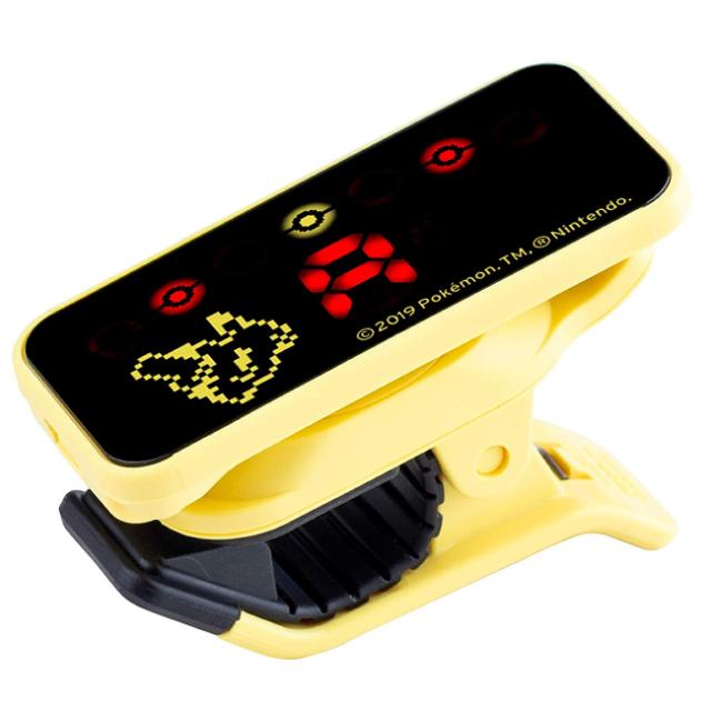 【送料無料メール便】ポケモン限定 ギターチューナー ピカチュウ(黄) KORGポケモンコラボチューナー PC-2-PPK