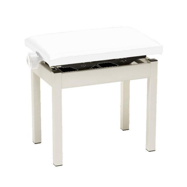 【送料無料】KORG 純正ピアノ椅子 高低自在ピアノ椅子 ホワイト(白) PC-300-WH