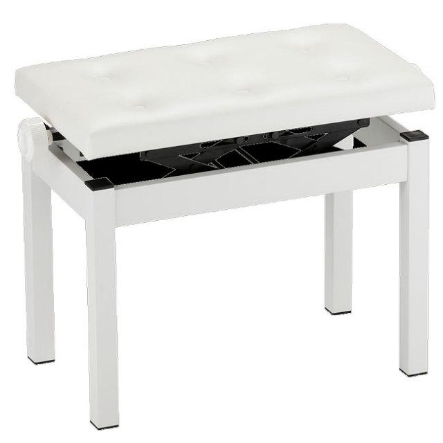 【送料無料】KORG 純正ピアノ椅子 高低自在ピアノ椅子 ワイド座面6つボタンブラック PC-770-WH