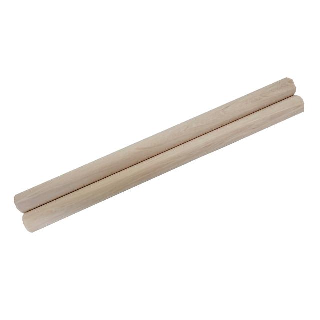 和太鼓バチ 材質:サワグルミ 太さ30mm X 長さ450mm 国産手工バチ 西日本楽器