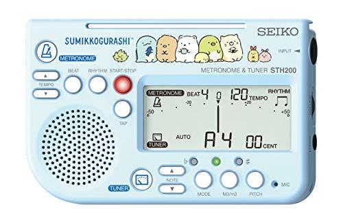 【送料無料メール便】セイコー メトロノームチューナー 限定 すみっコぐらし STH200SGL