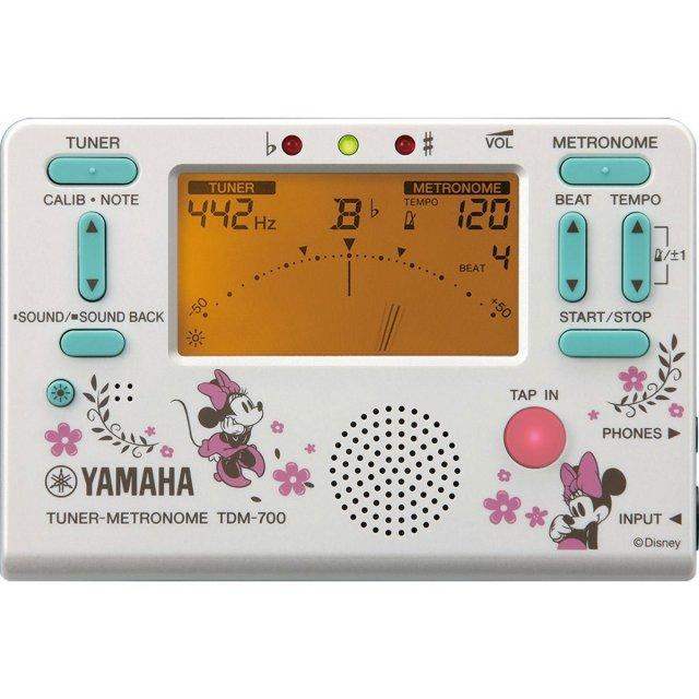 【送料無料メール便】YAMAHA メトロノームチューナー ミニーマウス 2018年限定 TDM-700MN4 ディズニーコラボ