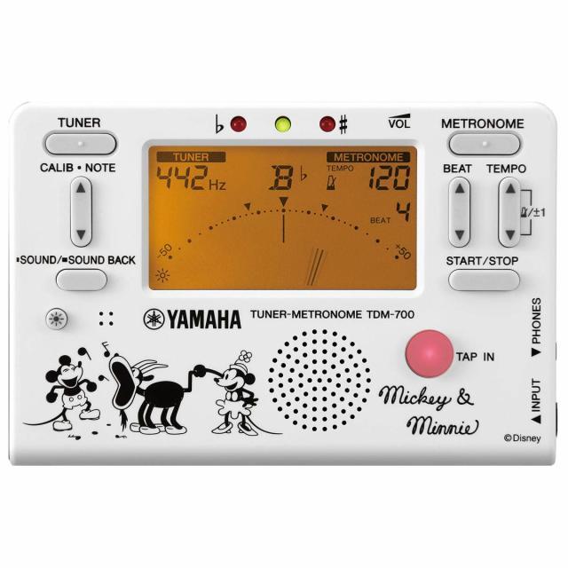 【送料無料メール便】YAMAHA メトロノームチューナー ミッキー&ミニー 2020年限定 TDM-700DMN5 ディズニー