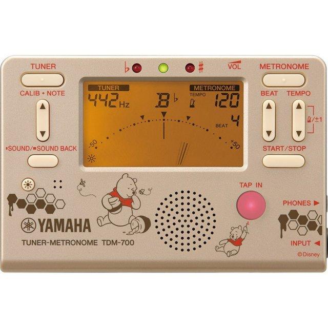 【送料無料メール便】YAMAHA メトロノームチューナー ウィニー・ザ・プー 2018年限定 TDM-700DPO3 ディズニーコラボ
