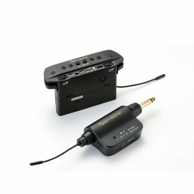 加工いらず アコースティックギター用 ワイヤレス ピックアップ SKYSONIC WL-800JP