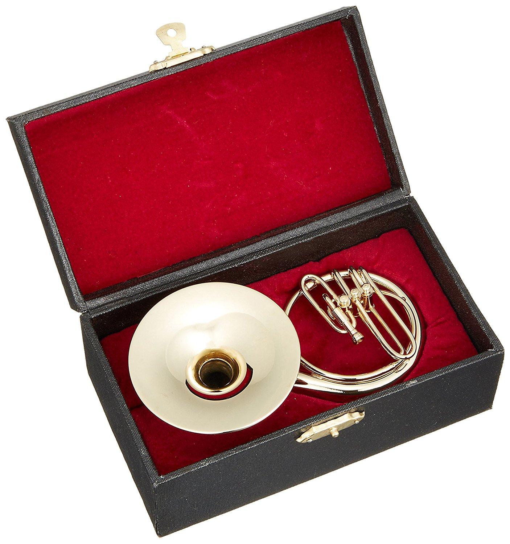 ミニチュア楽器(フィギュア)スーザフォン カラーゴールド 金属製 1/6(14cm) サンライズサウンドハウス(飾り物で音は出ません)