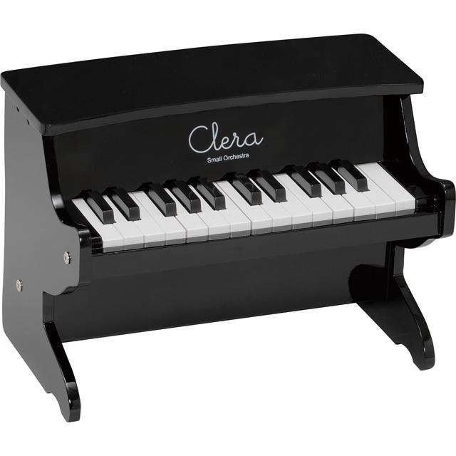 【送料無料】【在庫処分】Clera クレラ ミニピアノ ブラック MP1000-25K-BK トイピアノ