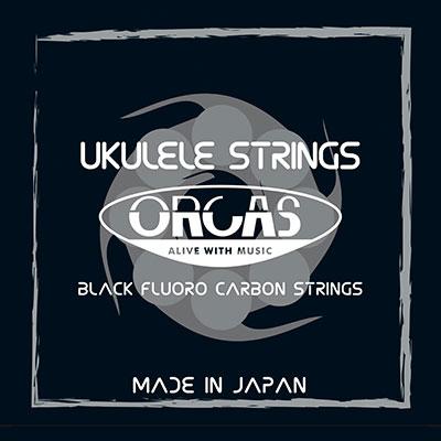 【送料無料メール便】ORCAS フロロカーボン ウクレレ弦セット ソプラノ コンサートサイズ ミディアムゲージ(019~022) OS-MED