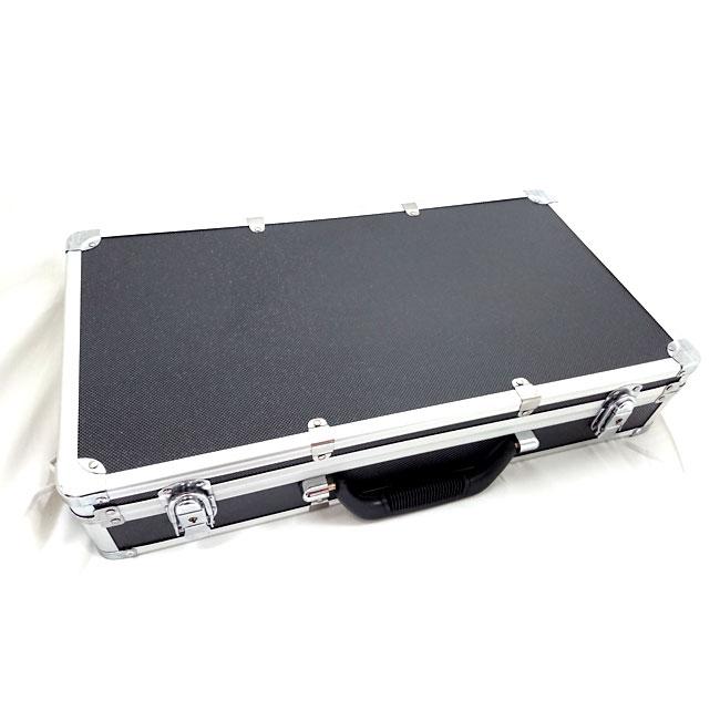【送料無料】在庫処分 ウレタン入りアルミケース マジックテープベルト付 メーカー不明 外寸51X28X10