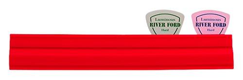 【送料無料メール便】日本製 ピックホルダー 19cm レッド マイクスタンド取り付け可能