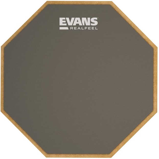【送料無料】太鼓 スネア 12インチ練習用パッド EVANS ラバーパッド RF12G