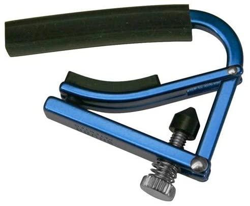 【送料無料メール便】SHUBB シャブ カポ 軽量タイプ L1 フォークギター用 ブルー