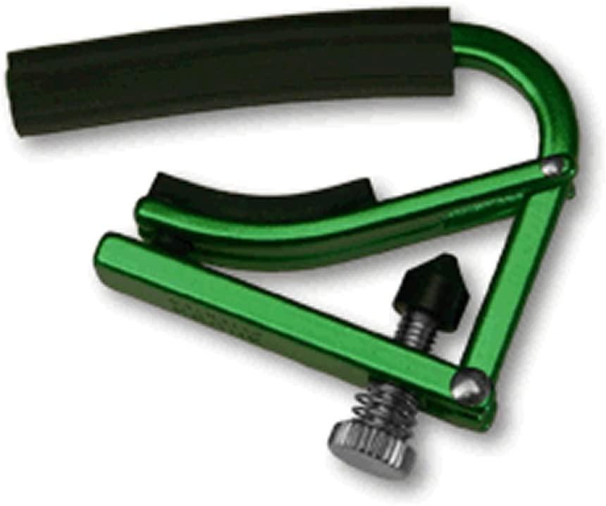 【送料無料メール便】SHUBB シャブ カポ 軽量タイプ L1 フォークギター用 グリーン