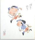 色紙(山笠子供)