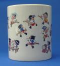 マグカップ「子供山笠」陶器